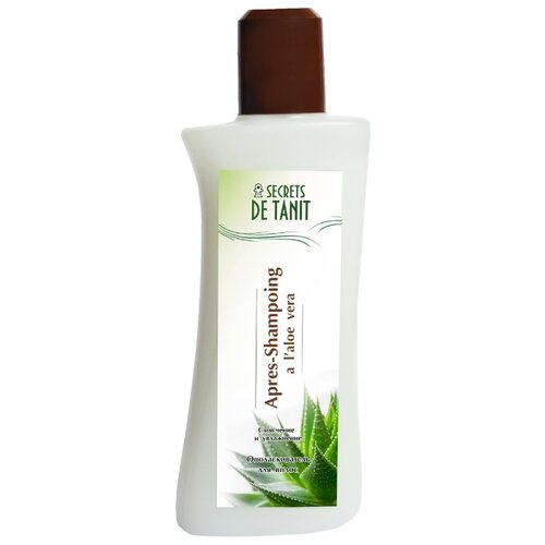 Secrets de Tanit Ополаскиватель для волос с экстрактом алое вера, 200 мл secrets de tanit маска для тела разогревающая глиняно водорослевая с маслом гвоздики 400 г
