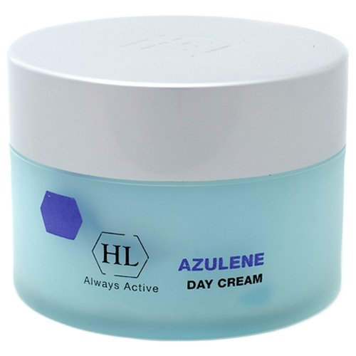 Купить Holy Land Azulene Day Cream Классический увлажняющий и смягчающий крем для лица с успокаивающим и легким антикуперозным эффектом, 250 мл