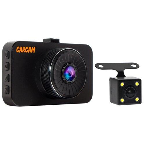 Видеорегистратор CARCAM F3, 2 камеры черный