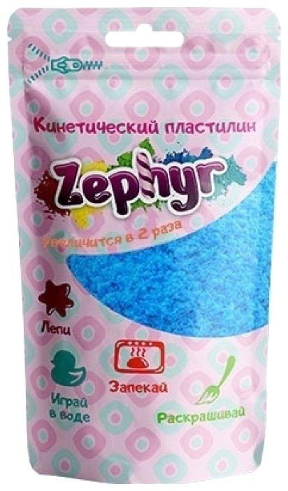 Масса для лепки Zephyr голубая 75 г Дой-пак (00-00000912)