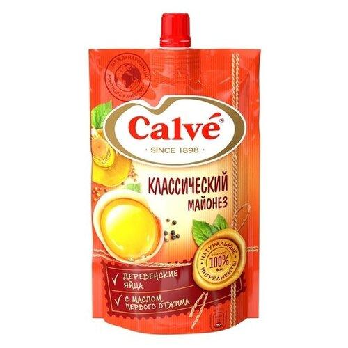 Майонез Calve Классический 50% 200 г яйцерезка calve