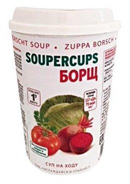 CUPSCOM Сухая смесь для борща быстрого приготовления 25 г