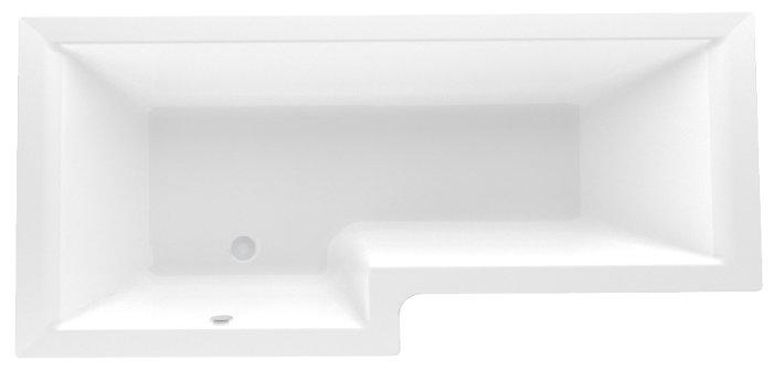 Акриловая ванна 1MarKa Marka One Linea 165х85 R без гидромассажа