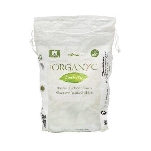 Ватные шарики Organyc Beauty из органического хлопка, 100 шт.
