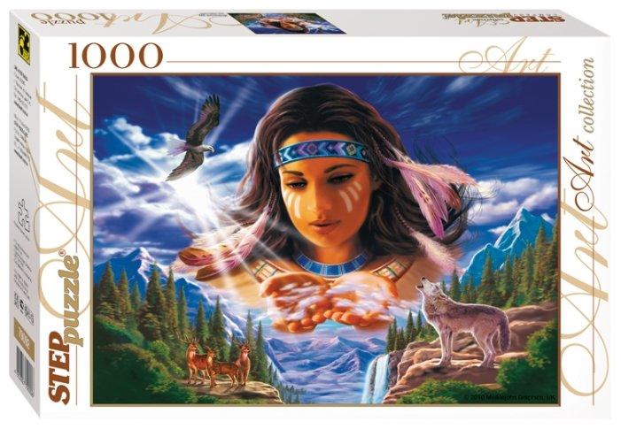 Пазл Step puzzle Art Collection Небесный дух (79092), 1000 дет.