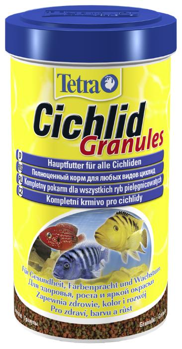Сухой корм Tetra Cichlid Granules для рыб