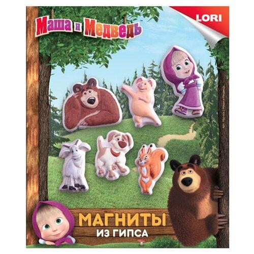 Купить LORI Магниты из гипса - Маша и Медведь (Мш-001), Гипс