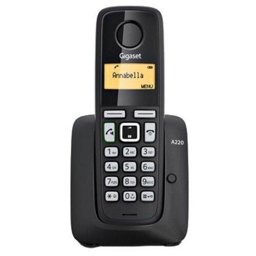 Купить Радиотелефон Gigaset A220 черный