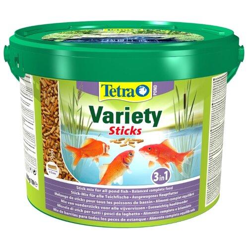 Сухой корм для рыб Tetra Pond Variety Sticks 10000 мл сухой корм для рыб tetra pond koi sticks 15000 мл