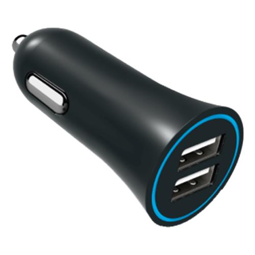 Автомобильная зарядка Media Gadget CPS-224U черный