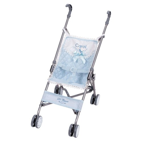 Купить Прогулочная коляска DeCuevas Скай 90096 голубой, Коляски для кукол