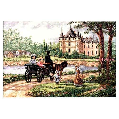 Dimensions Набор для вышивания MLadys Chateau (Леди Шато) 46 х 30 см (03790)Наборы для вышивания<br>