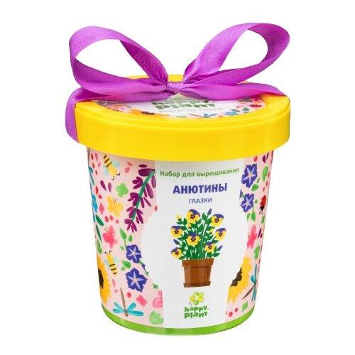 Набор для выращивания Happy Plant Горшок подарочный Анютины глазки цена 2017