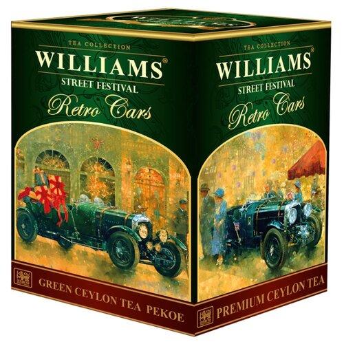 Чай зеленый Williams Retro cars Street festival , 200 г чай зеленый williams heraldic