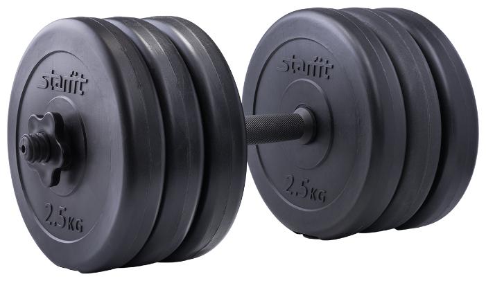 Гантель разборная Starfit DB-701 15.5 кг