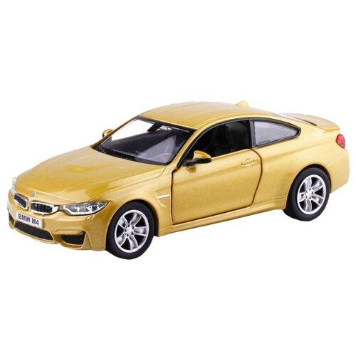 Купить Легковой автомобиль RMZ City BMW M4 (554035) 1:32 12.6 см золотистый, Машинки и техника
