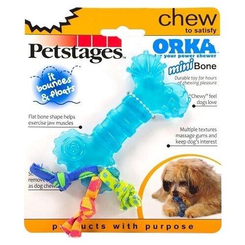 Косточка для собак Petstages Orka mini (221REX) синийИгрушки для кошек и собак<br>