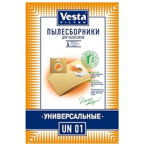 Vesta filter Бумажные пылесборники UN 01 4 шт.