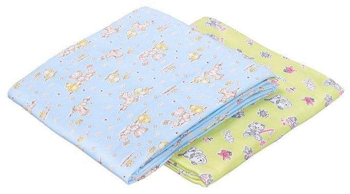 Многоразовые пеленки SWEET BABY футер 130х90 комплект 2 шт.