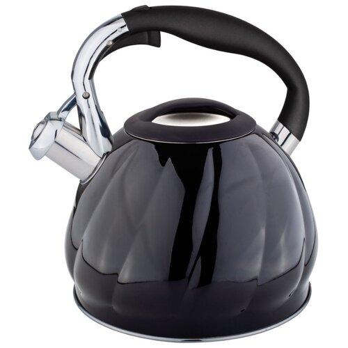 Rainstahl Чайник 7644-30RS\WK 3 л, черный rainstahl чайник 7625 30rs wk 3 л стальной черный