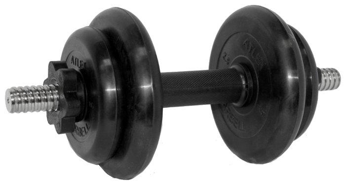 Гантель разборная MB Barbell MB-FdbM-At9 9 кг