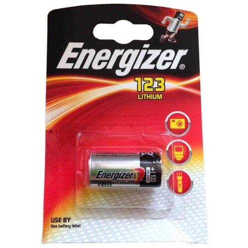 Батарейка Energizer CR123 1 шт блистер