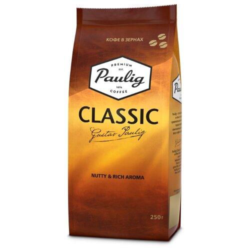 Кофе в зернах Paulig Classic, арабика/робуста, 250 г кофе в зернах paulig arabica 250г