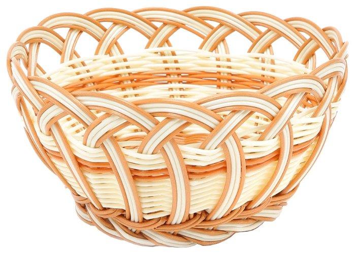 Корзинка для хлеба Oriental Way Мульти MJ-PP019BGBR бежевый/коричневый