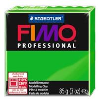 Полимерная глина FIMO Professional запекаемая 85 г ярко-зеленый (8004-5)