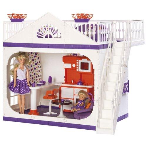 Фото - ОГОНЁК Дачный дом Конфетти С-1361, белый/фиолетовый огонёк дачный дом коллекция с 1360