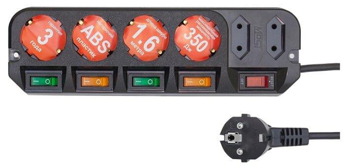 Сетевой фильтр APC PMH63VT-RS 6 розеток 230В