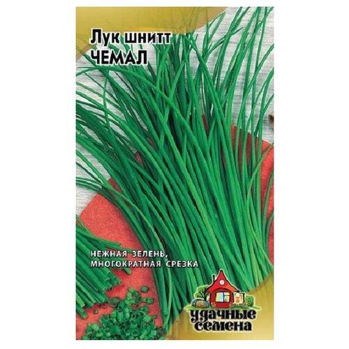 Семена Гавриш Удачные семена Лук на зелень шнитт Чемал 0,5 г, 10 уп.