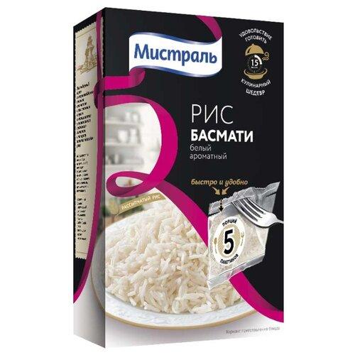 Рис Мистраль Басмати белый ароматный 400 гРис<br>