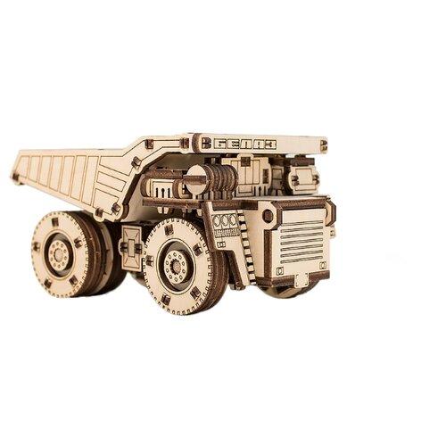 Сборная модель Eco Wood Art Белаз Мини брелок бижутерный eco wood art