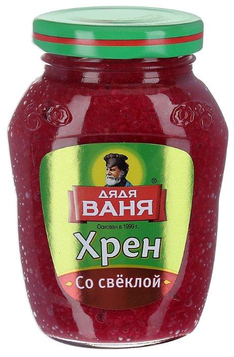Хрен Дядя ваня «Со свеклой», 140 гр.