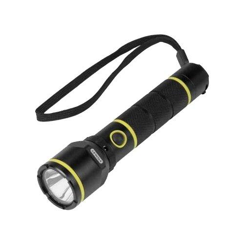 Ручной фонарь STANLEY FatMax Aluminium Torch Rechargeable 1-95-154 черный