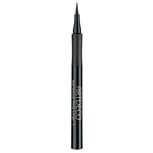 ARTDECO Подводка-фломастер для чувствительных глаз Sensitive Fine Liner, оттенок 1 black artdeco подводка ролл для век roll it disc eyeliner оттенок 1 black