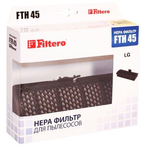 Filtero HEPA-фильтр FTH 45 1 шт. filtero hepa фильтр fth 32 1 шт