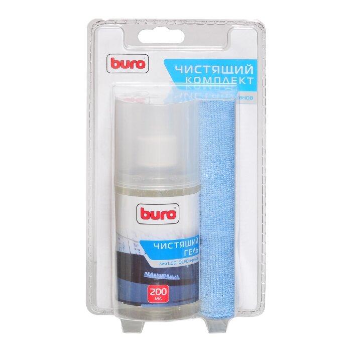 Набор Buro BU-Glcd чистящий гель+многоразовая салфетка для экрана, для ноутбука