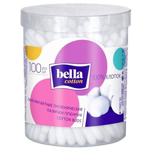Ватные палочки Bella Cotton гигиенические, 100 шт.