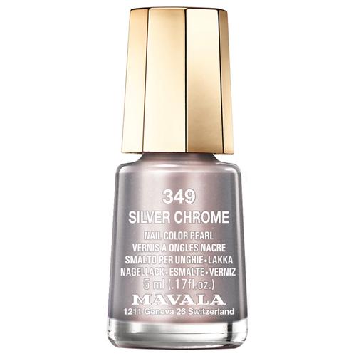 Лак Mavala Nail Color Pearl, 5 мл, оттенок 349 Silver Chrome mavala nail color