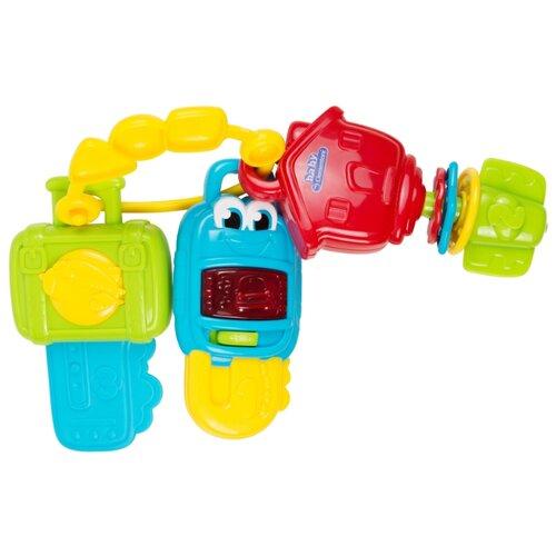 Купить Интерактивная развивающая игрушка Clementoni Музыкальные ключики голубой/желтый/зеленый/красный, Развивающие игрушки