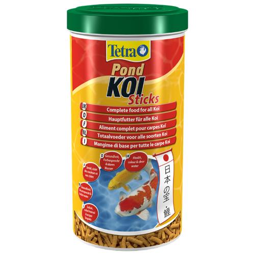 Сухой корм для рыб Tetra Pond Koi Sticks 1000 мл сухой корм для рыб tetra pond koi sticks 15000 мл