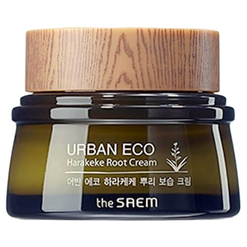 The Saem Urban Eco Harakeke Root Cream Крем для лица с экстрактом корня новозеландского льна, 60 мл артколор maxi blond осветлитель для волос с экстрактом белого льна 30г 60 мл