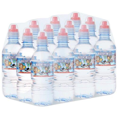 Вода минеральная Сенежская Kids негазированная, спорт ПЭТ, 12 шт. по 0.35 л