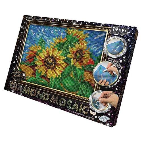 Купить Danko Toys Набор алмазной вышивки Diamond Mosaic Подсолнухи (DM-02-02) 20х30 см, Алмазная вышивка
