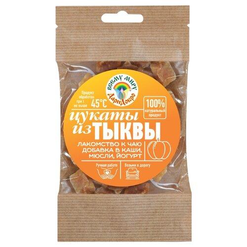 Цукаты ДариДобро из тыквы, 45 г