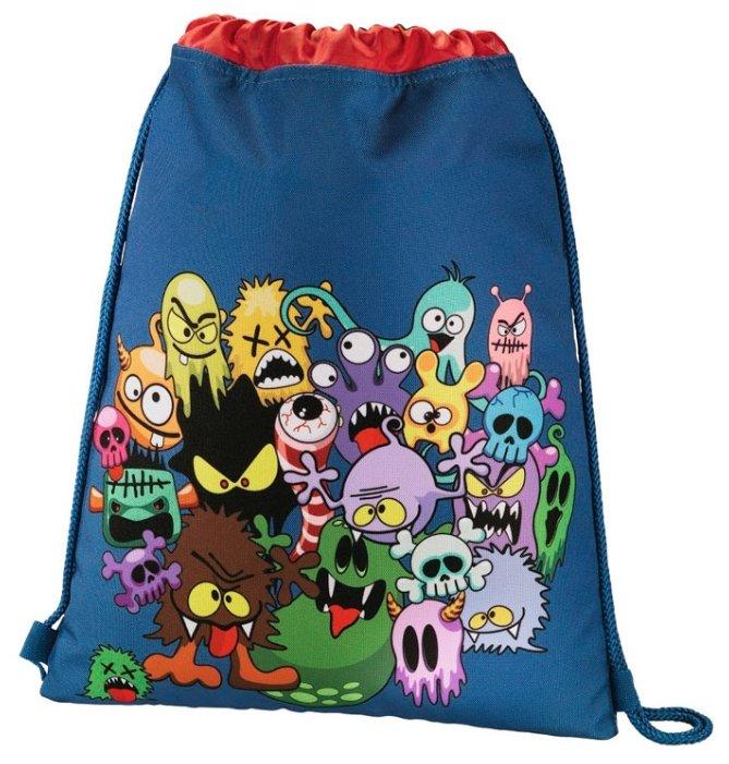 c59f78ff6fed Купить товар Hama сумка для обуви Monsters (139109) синий/красный по ...