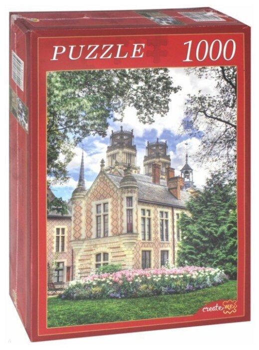 Пазл Рыжий кот Изящный замок (КБ1000-6909), 1000 дет.