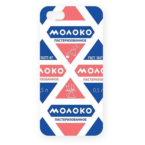 Купить Чехол Mitya Veselkov IP5.МITYA-146 для Apple iPhone 5/iPhone 5S/iPhone SE молоко